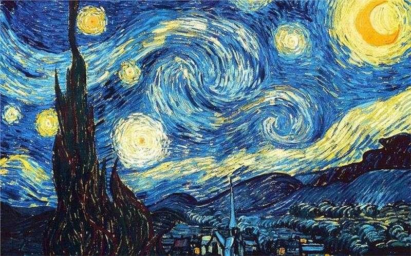 (Imagem: A Noite Estrelada, pintura de Vincent van Gogh de 1889)