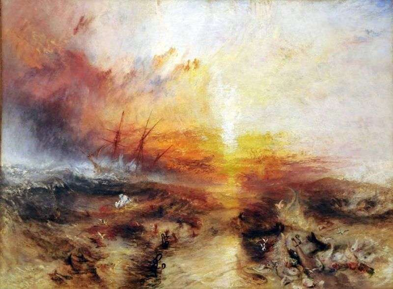The Slave Ship by William Turner
