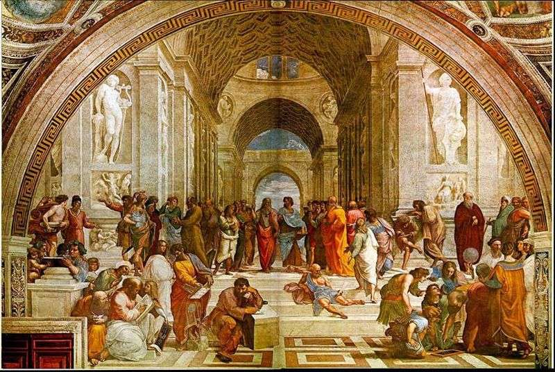 School of Athens by Raphael Santi