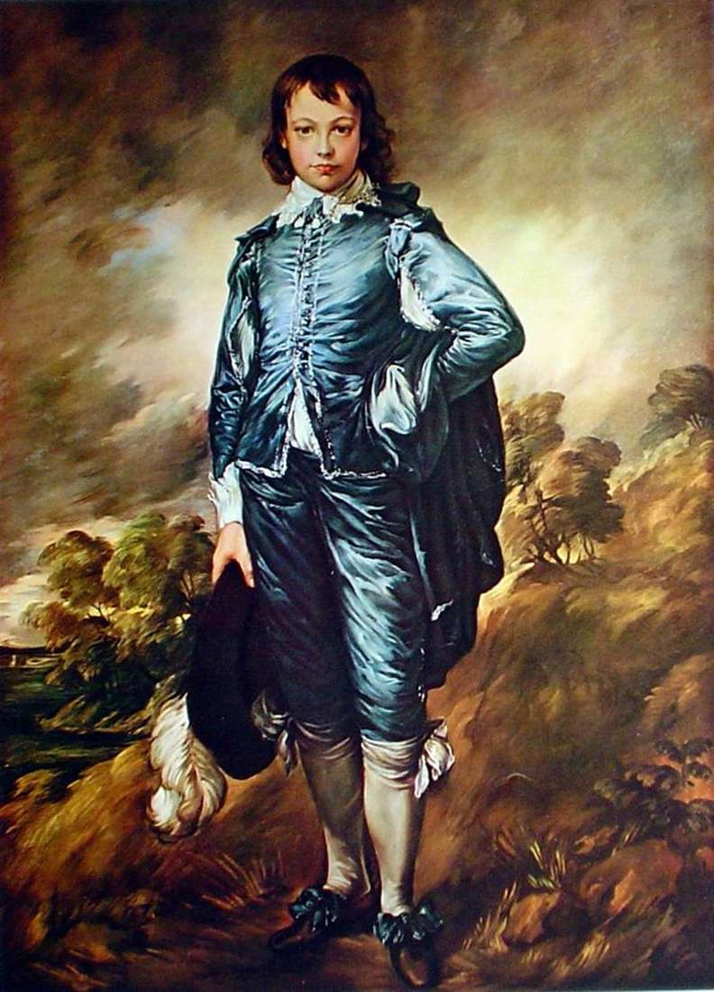 Blue Boy by Thomas Gainsborough