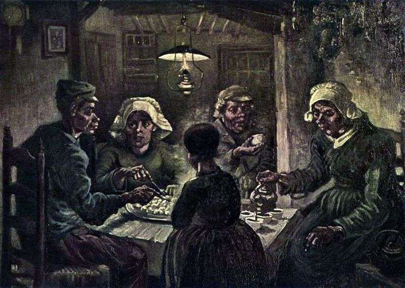 The Potato Eaters by Vincent Van Gogh