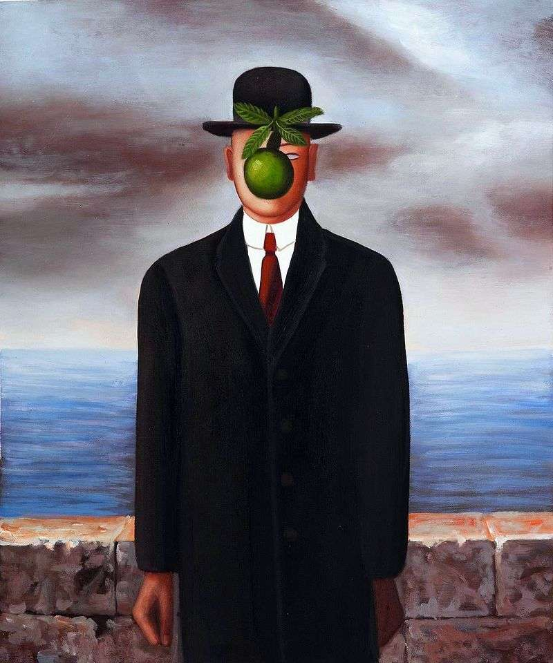 Rene Magritte The Son Of Man Description of the Pai...