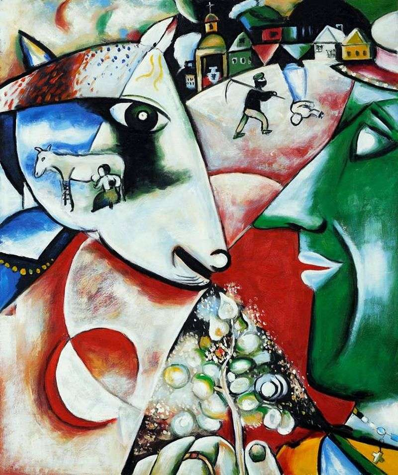 I and the Village by Mark Chagall