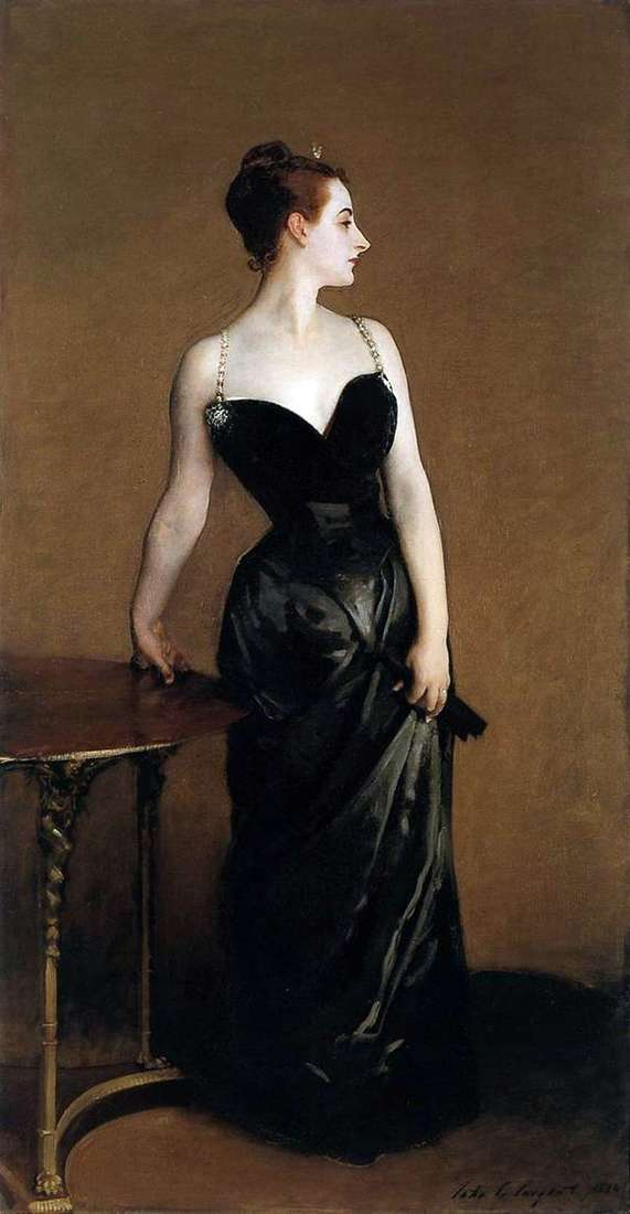 Madame X by John Sargent