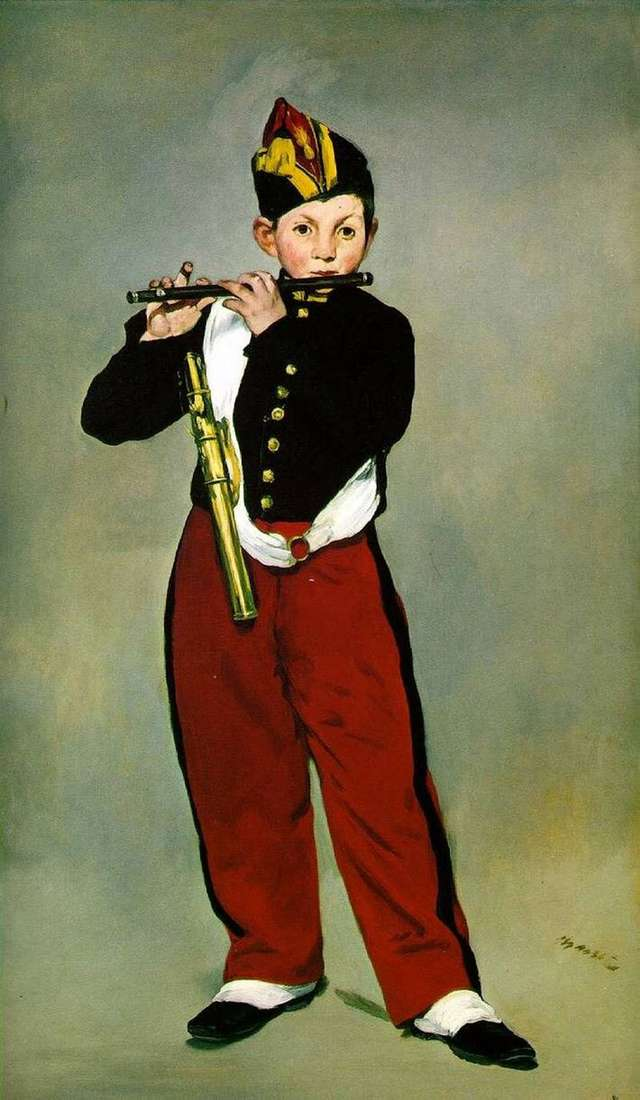 The Fifer by Edouard Manet