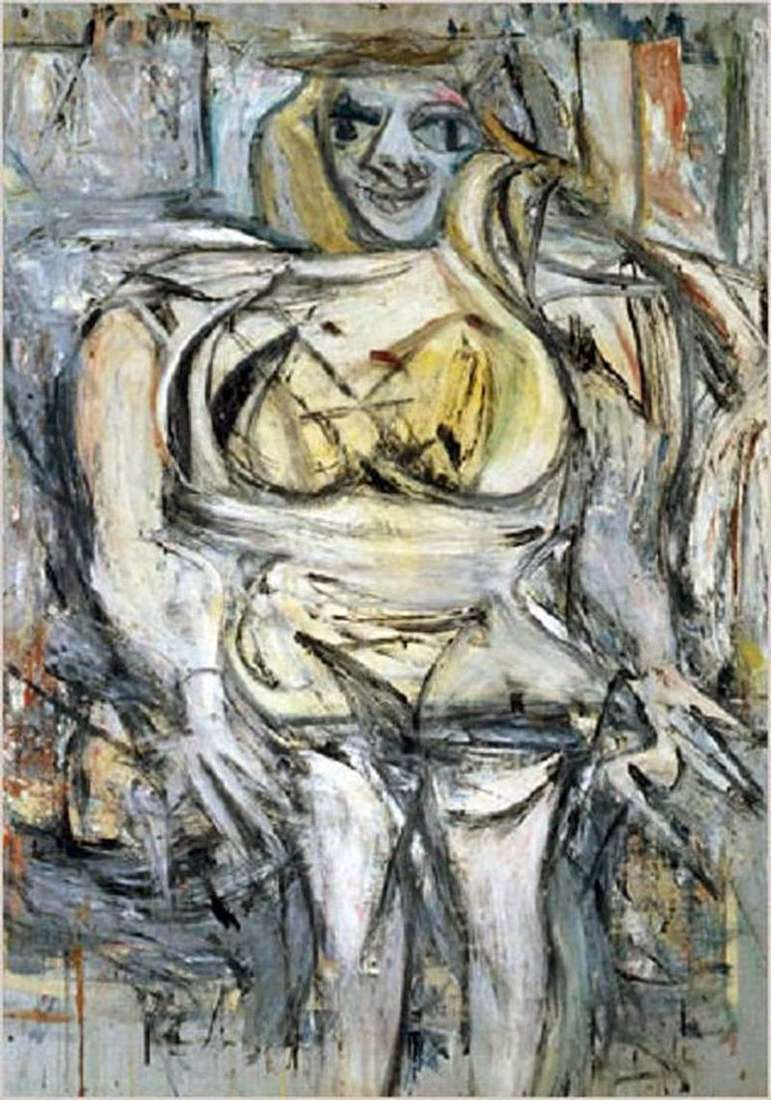 3 Woman by Willem De Kooning
