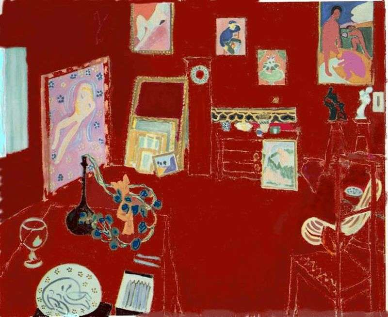 The Red Studio by Henry Matisse