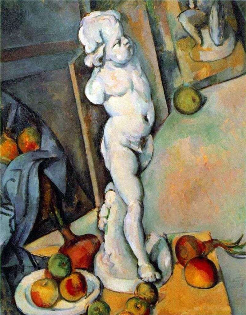 Still Life with Plaster Cast by Paul Cezanne