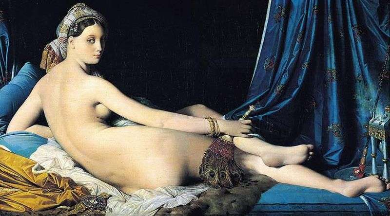 Grande Odalisque by Jean Ingres