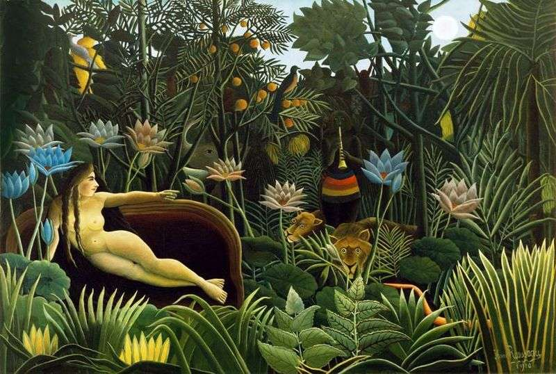 The Dream by Henry Rousseau
