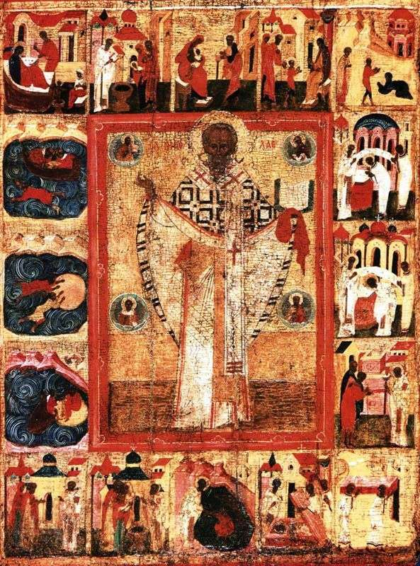 Saint Nicholas, with 16 hallmarks of life