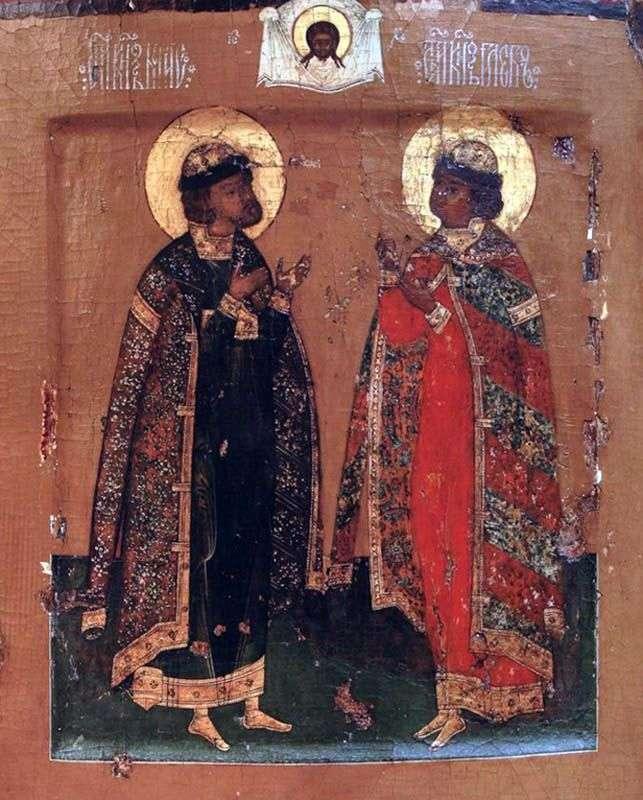 The Holy Princes Boris and Gleb