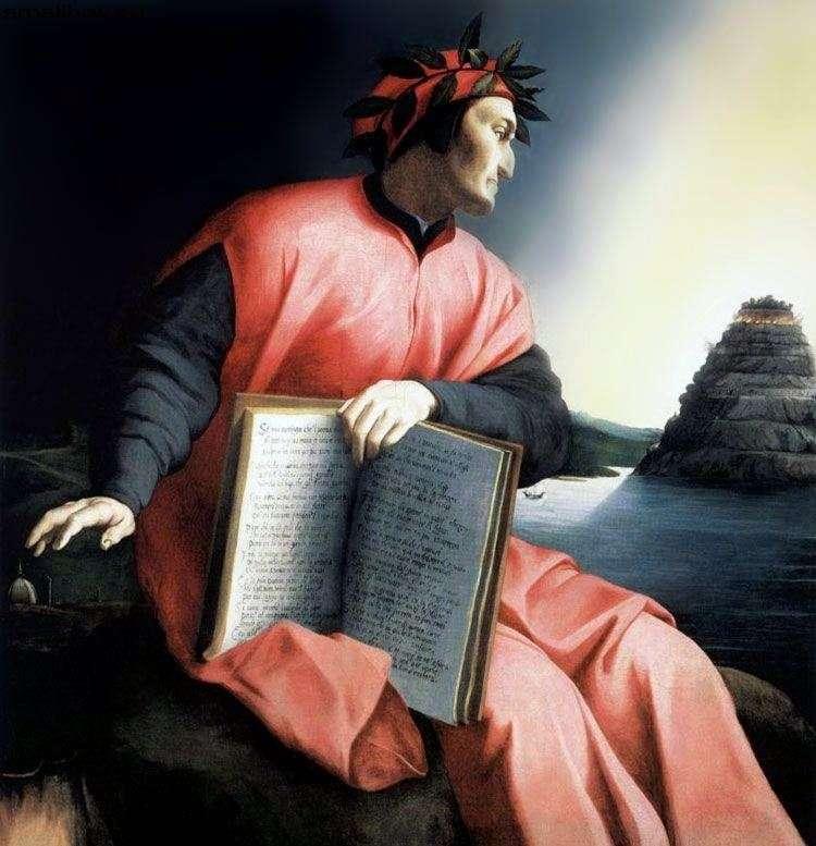 Portrait of Dante by Agnolo Bronzino