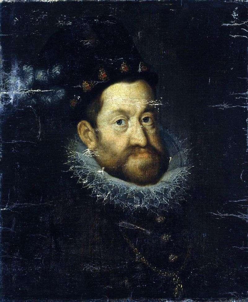 Emperor Rudolph II by Hans von Aachen