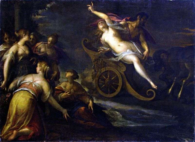 Abduction of Proserpine by Hans von Aachen
