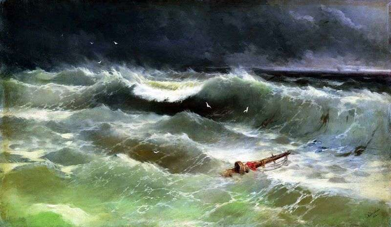 The Storm by Ivan Aivazovsky