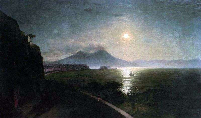 Vesuvius by Ivan Aivazovsky