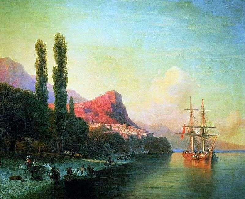 View of the Golden Horn by Ivan Aivazovsky