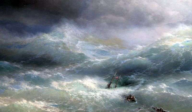 Wave by Ivan Aivazovsky
