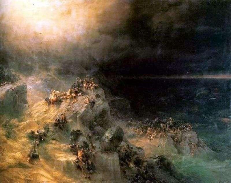 The Flood by Ivan Aivazovsky