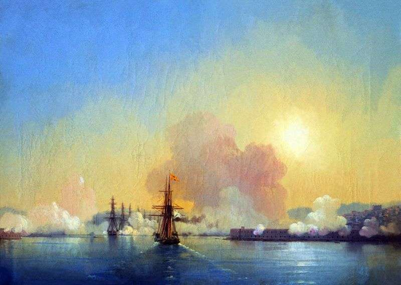 Entrance to the Sevastopol Bay by Ivan Aivazovsky