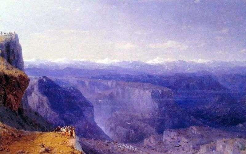 Caucasus by Ivan Aivazovsky
