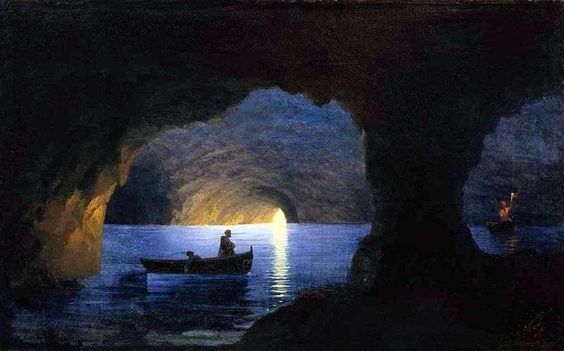 Azure grotto by Ivan Aivazovsky