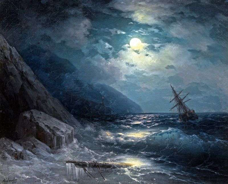 The sea by Ivan Aivazovsky