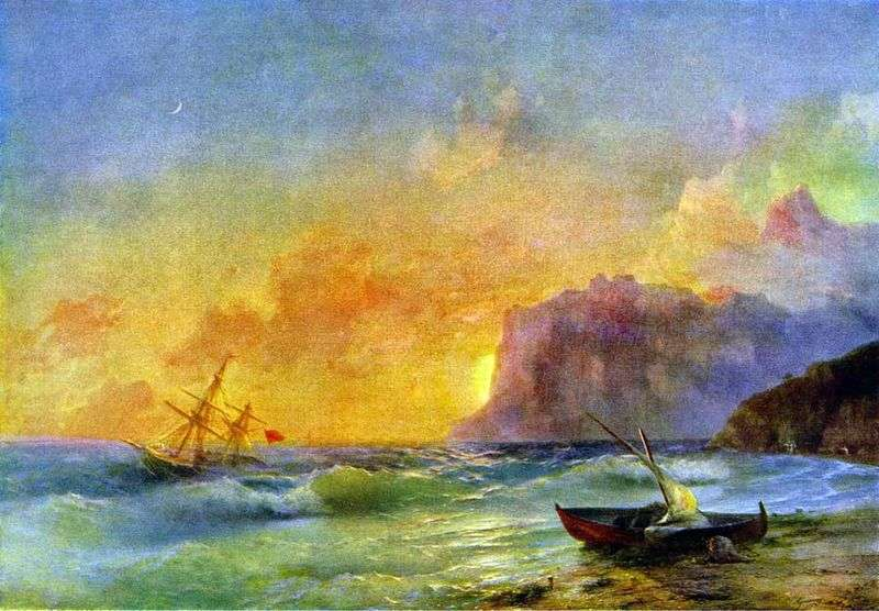Sea. Koktebel Bay by Ivan Aivazovsky