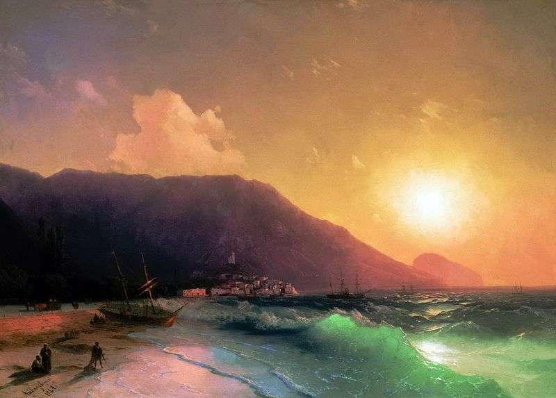 Sea view by Ivan Aivazovsky