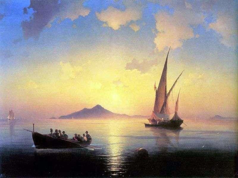 Neapolitan Bay by Ivan Aivazovsky