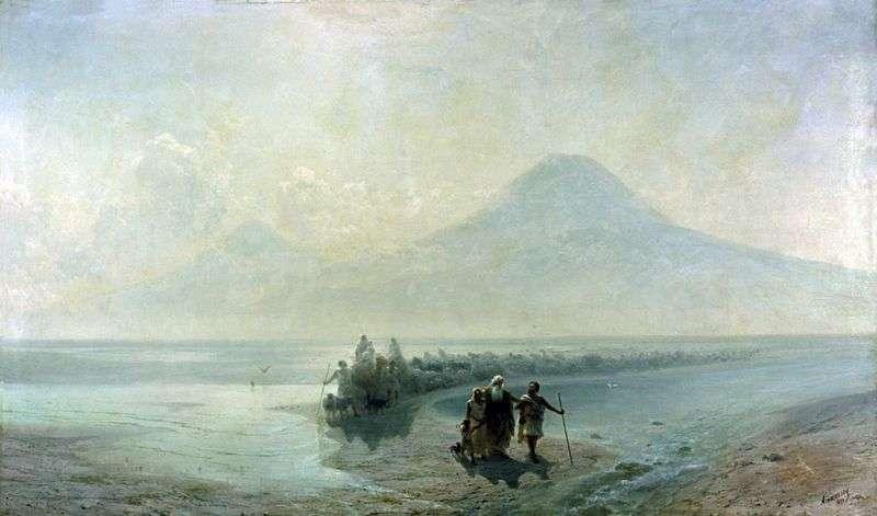 The Descent of Noah from Ararat by Ivan Aivazovsky