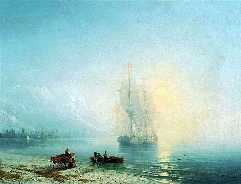 Calm Sea by Ivan Aivazovsky