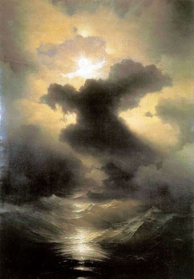 Chaos. The Creation of the World by Ivan Aivazovsky