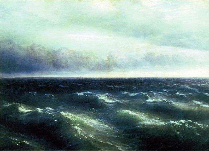 Black Sea by Ivan Aivazovsky