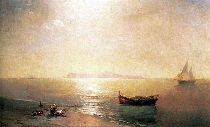 Shtil by Ivan Aivazovsky