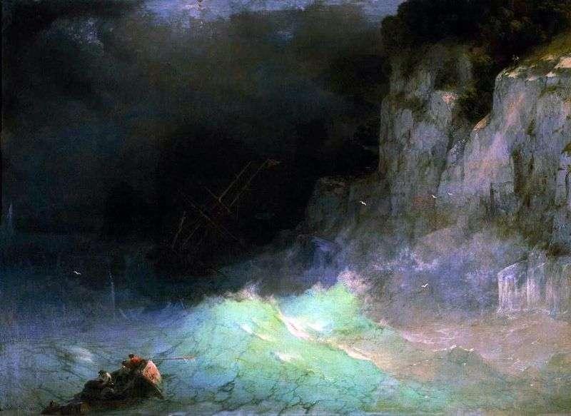 Storm by Ivan Aivazovsky