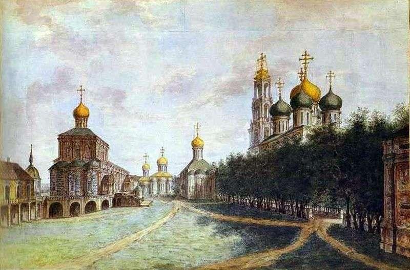 The Trinity Sergius Lavra by Fyodor Alekseev