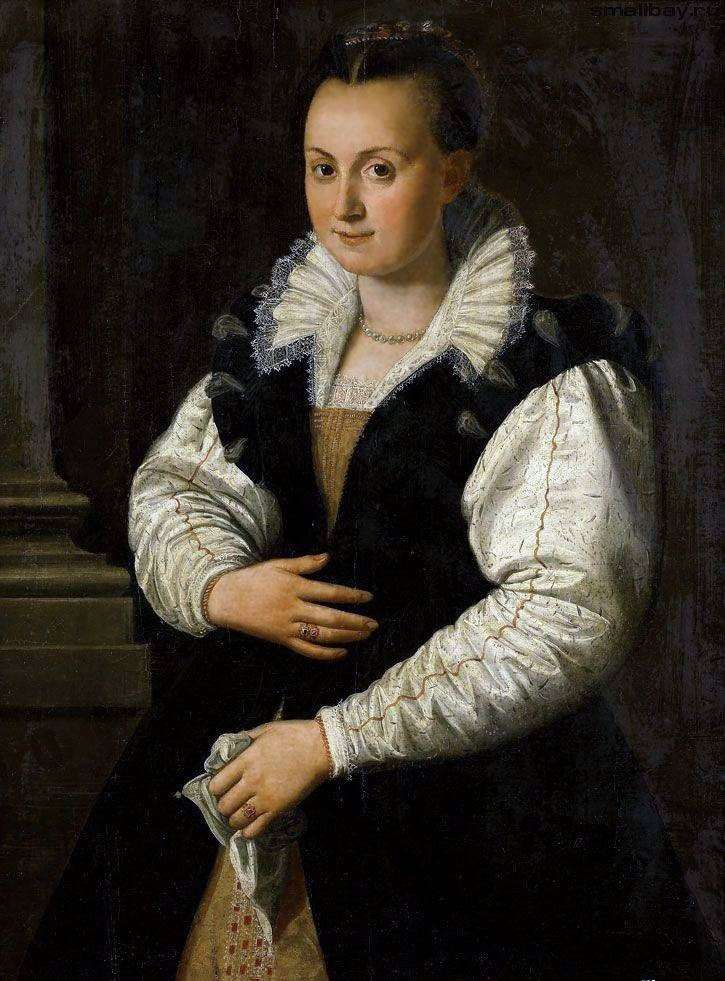 Portrait of a Lady by Alessandro Allori