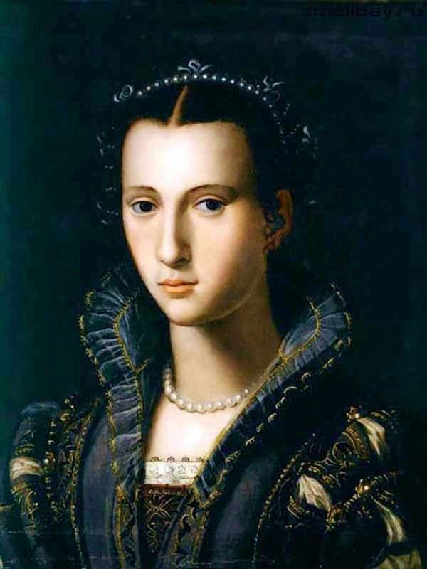 Portrait of a Florentine lady by Alessandro Allori