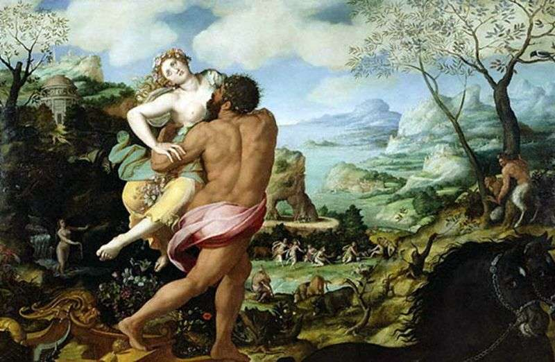 The Abduction of Persephone by Alessandro Allori