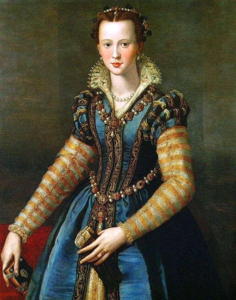 Eleonora di Garcia dei Medici by Alessandro Allori
