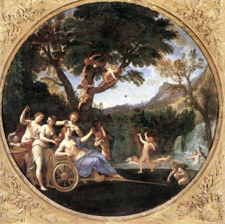 Spring (Toilet of Venus) by Francesco Albani