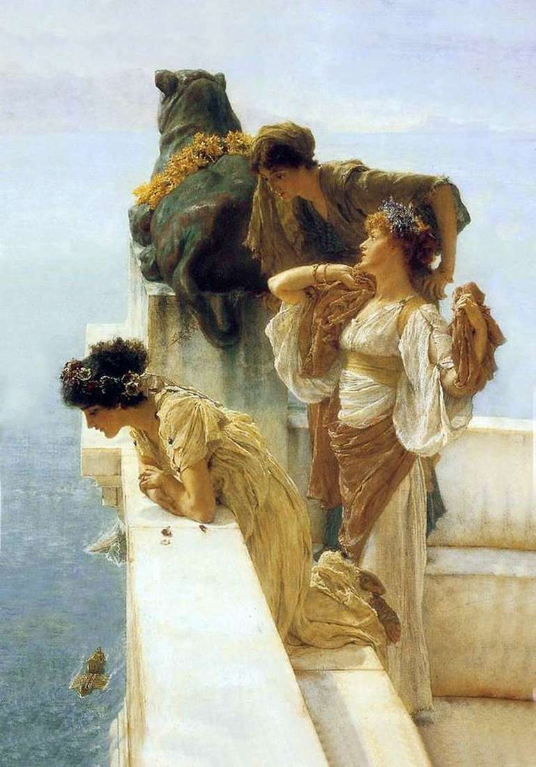 Favorable position by Lawrence Alma tadema