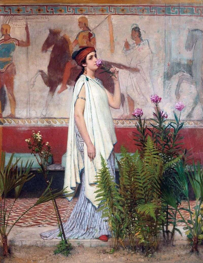 Greek woman by Lawrence Alma Tadema