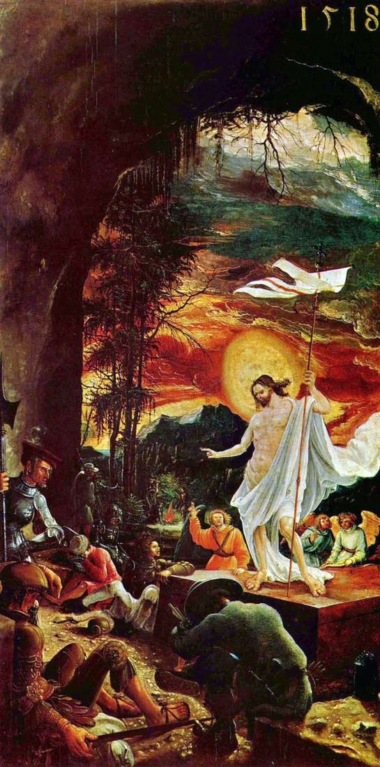 The Resurrection of Christ by Albrecht Altdorfer