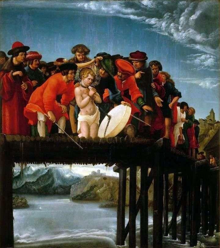 Martyrdom of St. Florian by Albrecht Altdorfer &; amp ;; nbsp