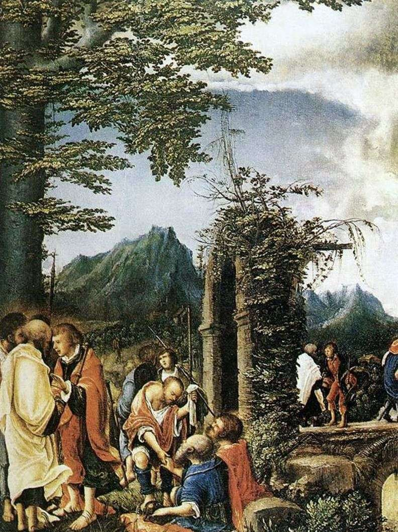 Communion of the Apostles by Albrecht Altdorfer