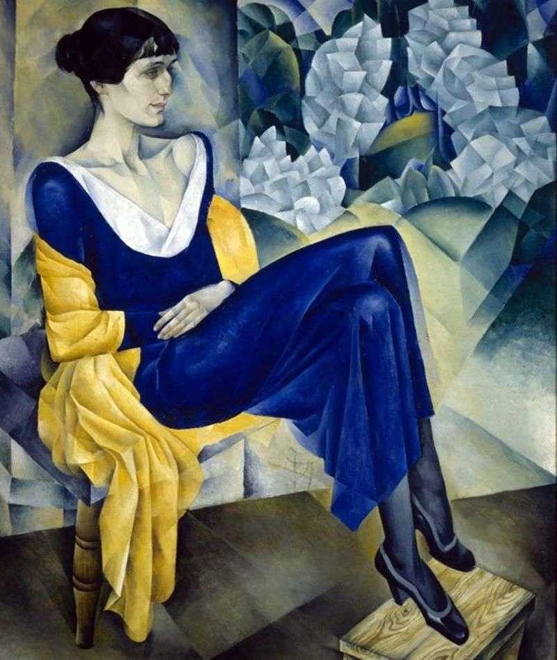 Anna Akhmatova by Nathan Altman