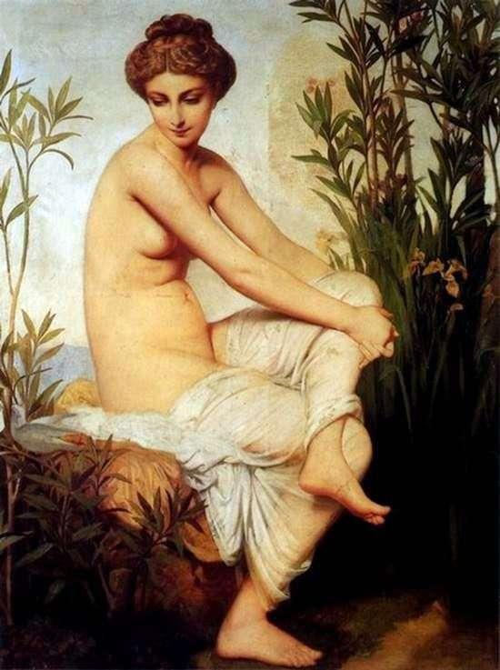 Ancient bather by Evgeniy Emanuel Amari Dyuval
